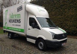 CityBox - Poly-light - renault - Crafter met belettering